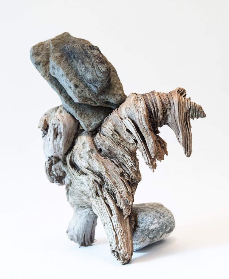 Rolf Stuber Holzskulptur #06