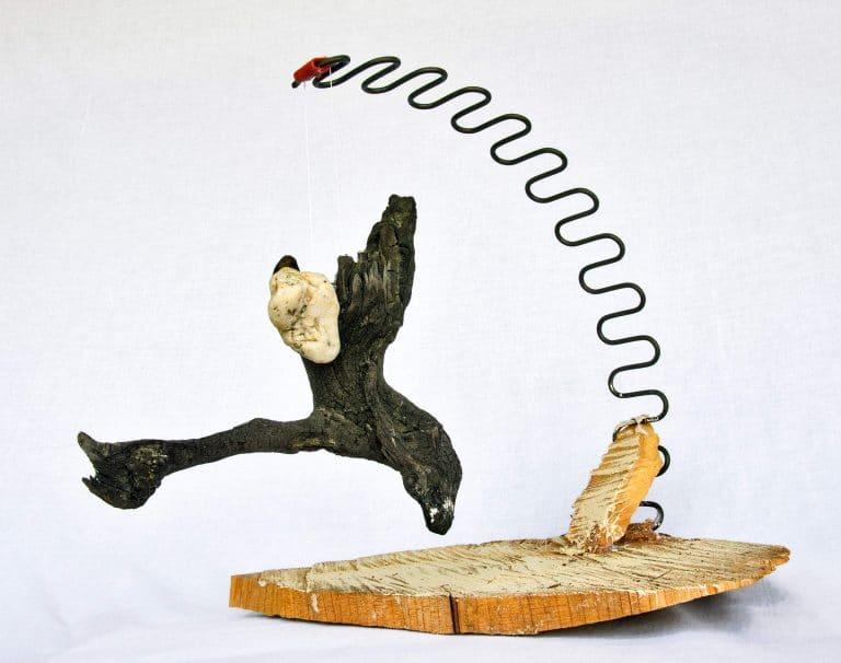 Rolf Stuber Holzskulptur #15