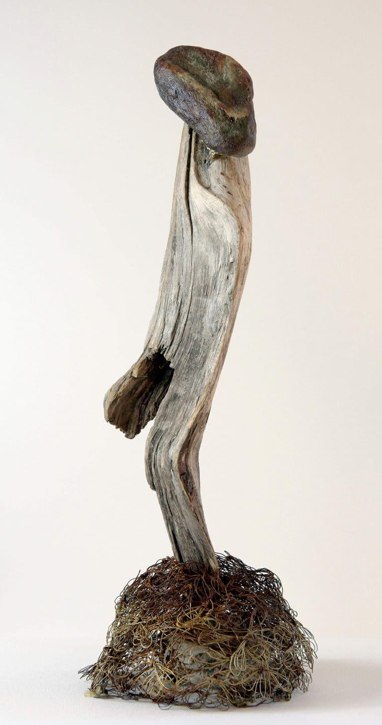 Rolf Stuber Holzskulptur #19