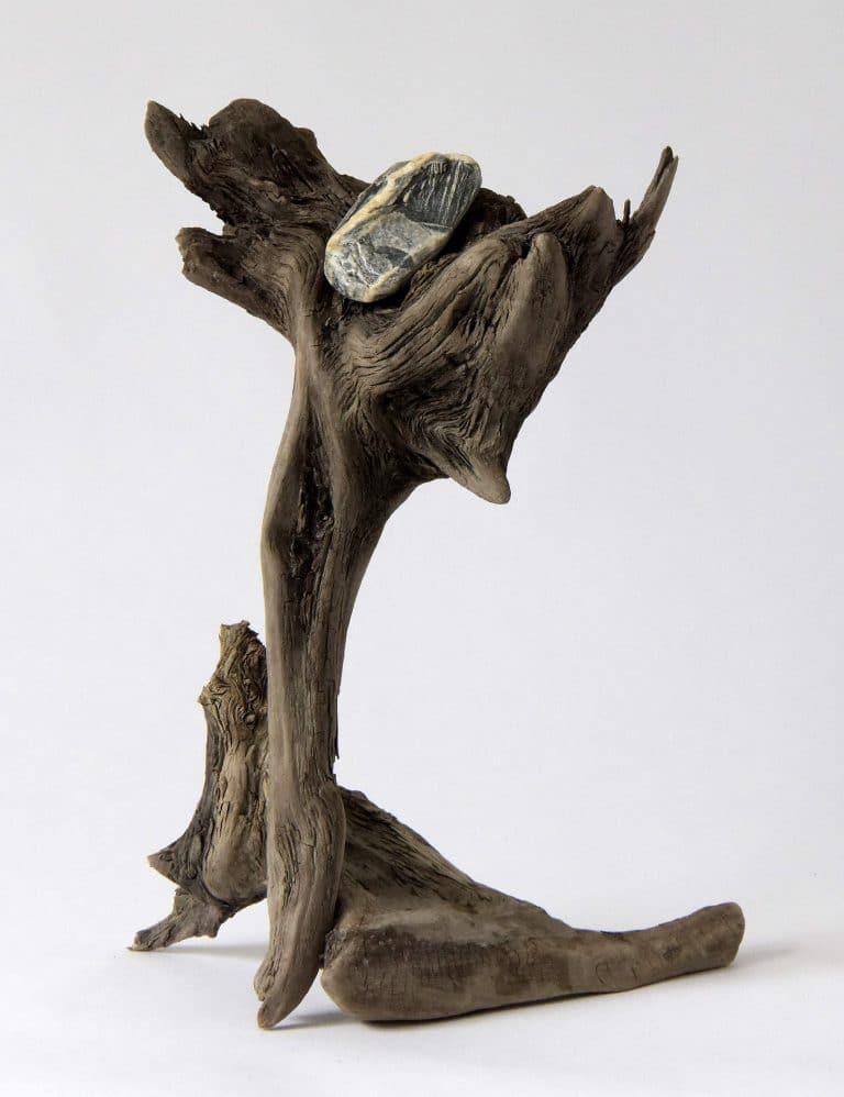 Rolf Stuber Holzskulptur #21