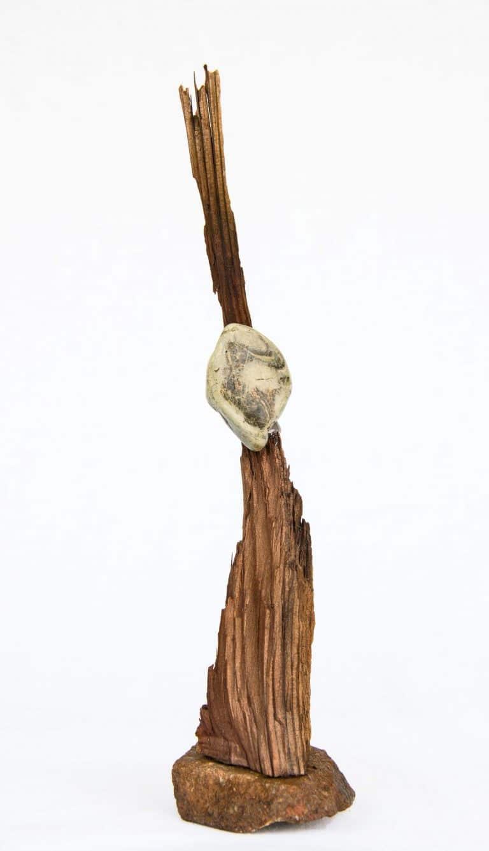 Rolf Stuber Holzskulptur #27