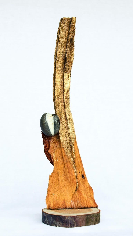 Rolf Stuber Holzskulptur #28